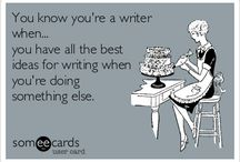 3.3 You know you're a writer when...
