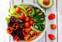 Vegan salad inspiration / You can never have enough of beautiful salads. If you want to join this salad lovers board, just comment on any of the lovely photos or email cleaneatinguk@gmail.com