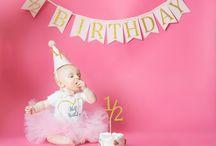 Raelyn 1/2 birthday