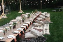 Ideas for party and events