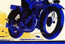 motor vintage poster