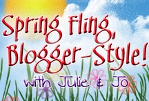 Spring Fling, Blogger-Style! Features / These are each of our TOP 3 FAVES from the link-up and our feature day posts.