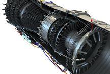 Letecké turbokompresorové motori