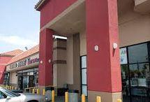 Shopping Center Facade Color Study