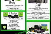 ItWorks / Become a loyal customer today and start the new you today!!!  Email me at itworks.aespinoza@gmail.com or Shop online at skinnywrapsbyalex.myitworks.com / by Alexandria Espinoza