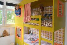 Kinderkamer - Stapelbed / Kinderkamer - Stapelbed