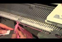 машинное вязание видео