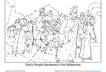 God's People Wandered in the Wilderness / When it was time to enter and conquer the Promised Land, the people doubted God and refused to go in. So, God caused them to wander in the wilderness for 40 years until the faithfulness generation died off. These Bible activities will help children learn about the importance of trusting the Lord.