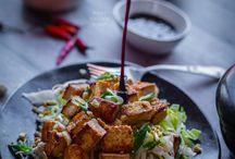 food (tofu, seitan)