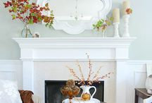 Above the fireplace / by Mallory Hill