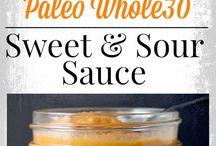 Paleo sauces