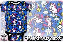 """Fresh Baked Kittens Baby Apparel / A line of kids clothes that'll make you say """"Eww"""" + """"Aww""""!"""
