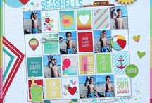 CTMH - Seaside / Inspiration for paper crafting with Close to my Heart's Seaside collection