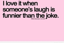 "Hilarity... I love to laugh, ha ha ha haaaaa :D / To quote a great song from the movie,""Mary Poppins,"" ""I love to laugh hahahaha! Loud and long and clear!"" :D"