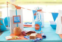 Birthday Party {Pool Party Ideas} / Make a splash with an amazing pool party!   Simple fun food, craft, favor and styling ideas for hosting a swimming party!  For more ideas http://blog.thecelebrationshoppe.com / by Kim {The Celebration Shoppe}