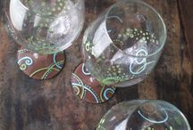 Painted glasses / by Nicole Elizabeth