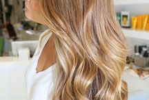 Curled Hair Inspiration / I'm a girl with long, straight hair and I'm obsessed with curls! I'm seriously thinking about getting a perm, but in the meantime I'm just going to use my curling iron.