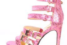 Platform Heels / We love platform heels, the higher the better!  Check out www.pinkbasis.com