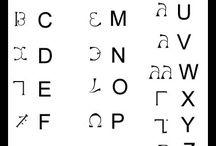 enochianska abeceda