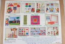 September 2014 Kit - Color Zoo by Lois Ehlert / Fun and educational activities based on the book Color Zoo.