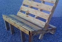 Pallets ideas / by Sheila Adamson Carter