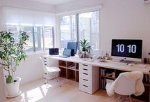 Pracovní prostor pro dva