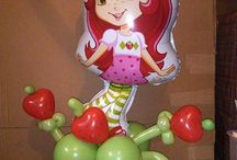 strawberry shortcake balloons / by Rosielloons