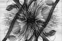 Hortus Nocturnalis / Intrigued by the Selenicereus Grandiflorus, a cactus species that blooms rarely, and when it blooms it only does so for a few hours at night, Sybrandy designed a print for a bedspread. In this representation the temporality and the volatility of this rarely blossoming plant is preserved. A nocturnal flower now blooms during the day.