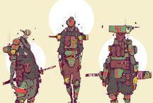 Futuristic/ Postapocalyptical Stuff