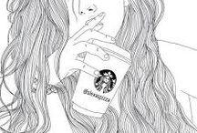 ♡tumblr tekeningen♡