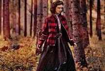 ELLE Sweden September 2013 / Photo shoot inspired by tv-series Twin Peaks