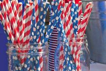 Patriotic, Red, White, & Blue Party Themes / Party ideas for our All American Combo