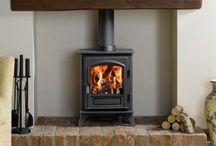 house // fireplace