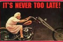 IT'S NEVER TOO LATE !!!! / by Angélina AGO