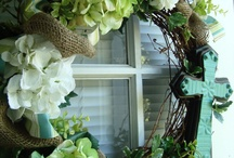 Wreath ideas  / by Kristie Price