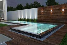 muro piscina