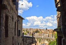 THINK about Living in Perugia / A nice collection of images of the woderful and medioeval city of Perugia in Umbria with some great apartments/villa we have for sale