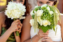 Green & White Wedding Flowers