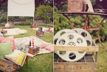 Backyard Movie Party Ideas / by Cristy Mishkula @ Pretty My Party