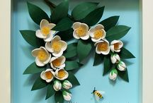 kwiaty quilling