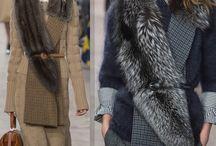 Как носить меховой шарф стильно
