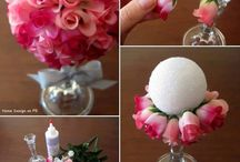 DIY Wedding Ideas / Crafty ideas for wedding pieces you can make yourself!