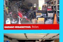 garage and loft reorganisation