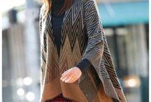 Ponča / #fashion