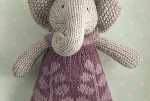knit/crochet animals