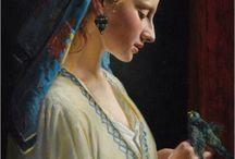 Art Painter Frederic Pierre Tschaggeny