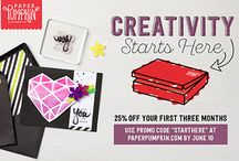 Stampin' Up! Promotions / Discounts, events, sales, offers