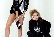 Kpop stars and western stars