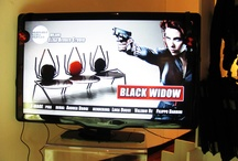 Black Widow's Sofa 4 Marvel by Berger