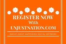 UnjustNation.com / Create an event, join groups, send just its, like and comment, favorite and follow, share your ideas with idea stream, use an amazing mailing engine,improve you personal and profession profile find connections and a lot more. everything is there on this single website. It is unlike other social media websites or any other website. register with us at: www.unjustnation.com
